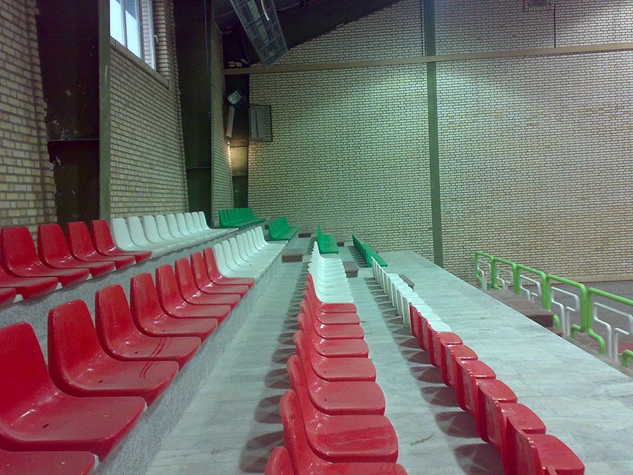 سالن ورزشی چندمنظوره موسسه فرهنگی ورزشی و توانبخشی ایثار